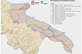 La Ciclovia dell'Ofanto nel Piano Regionale della Ciclabilità